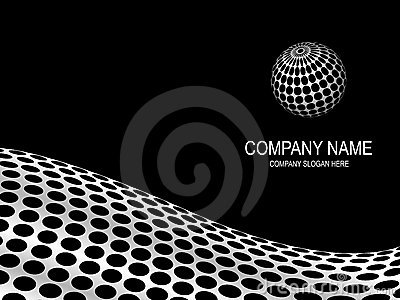 Abstract company page.