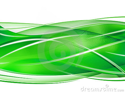 Abstract composition with curves, lines, gradients