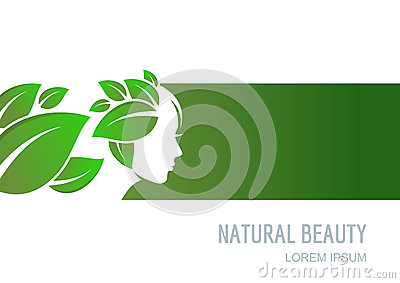 Abstract concept for beauty salon cosmetics spa natural for Abstract beauty salon