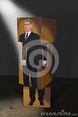 Abstract Concept Business Man For Sales, Marketing