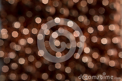 Abstract Copper Bokeh