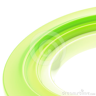 Abstract copyspace torus background
