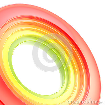 Free Abstract Copyspace Torus Background Royalty Free Stock Images - 25330069