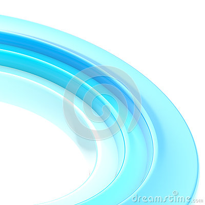 Abstract copyspace torus background
