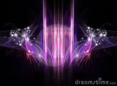 Abstract Cosmic Holiday background