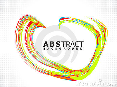 Abstract creative colorful heart concept