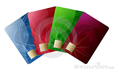 Abstract credit card