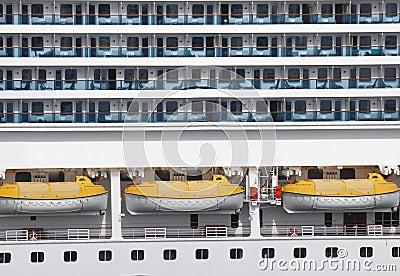 Abstract Cruise Ship