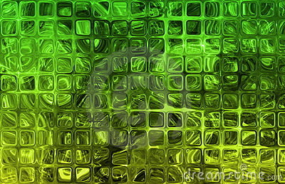 Abstract Cubes Tiles Grid Pattern