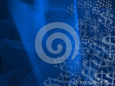 Abstract Currency Symbols Background