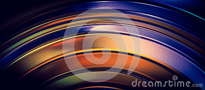 Abstract curved lines