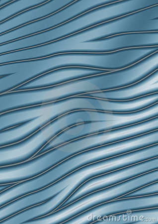 Abstract curves - blue background