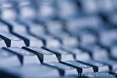 Abstract dark keyboard background
