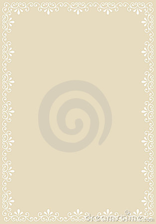 Abstract decorative border