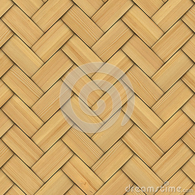 Free Abstract Decorative Wooden Textured Basket Weaving Royalty Free Stock Photos - 35467508