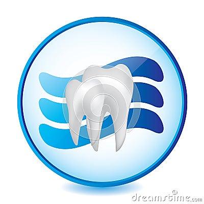 Abstract dental sign
