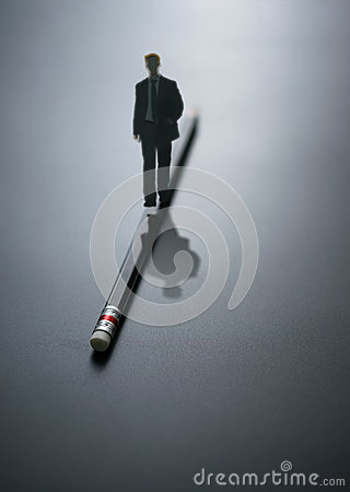 Free Abstract Design Business Man Walking On The Pencil . Business Ba Royalty Free Stock Images - 81183819