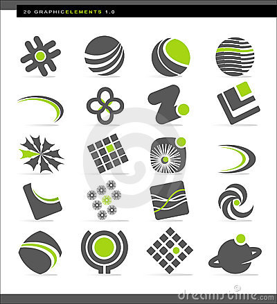 Free Abstract Design Elements Stock Photos - 6674163