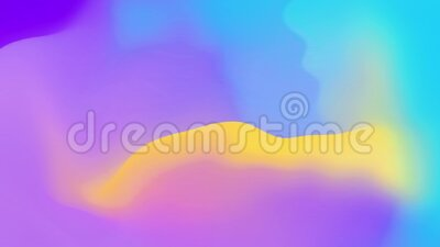 Abstract Digital Multicolor Gradient Mesh Motion Loop Animatin Background stock video