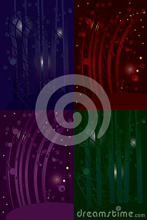 Abstract-disco-background