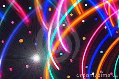 Abstract/Disco Background