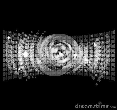 Free Abstract Disco Light Stars  Background Stock Photos - 26915573