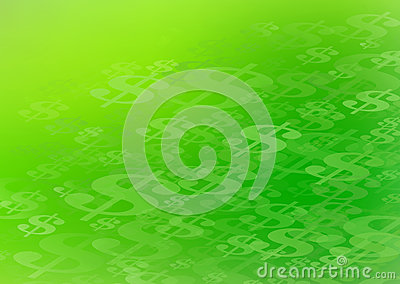 Abstract Dollar Sign Background Graphic