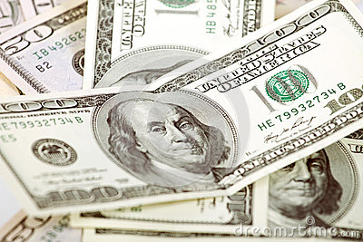 Abstract Dollars Background