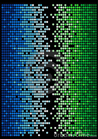 Abstract dots  background 2