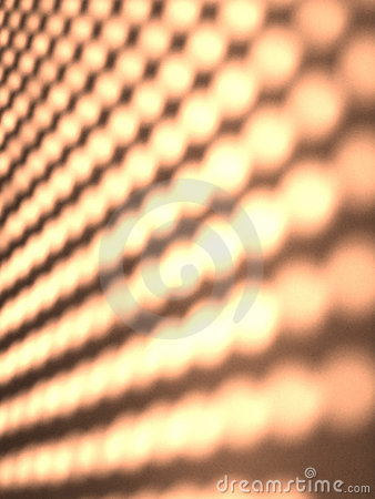 Abstract dotted light pattern texture