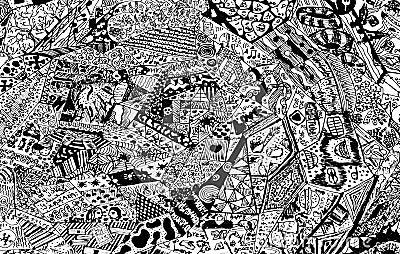 Abstract Drawing. Stock Photo - Image: 42479626