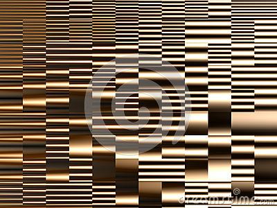 Abstract dynamic construction Stock Photo