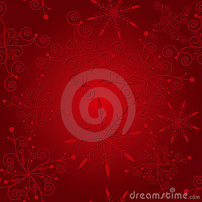 Abstract elegance red christmas background
