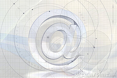 Abstract Email Background Royalty Free Stock Photography - Image ...