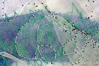 abstract stitches