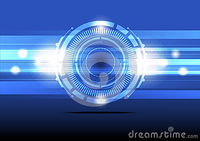 Abstract energy concept background