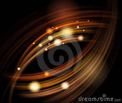 Abstract energy waves