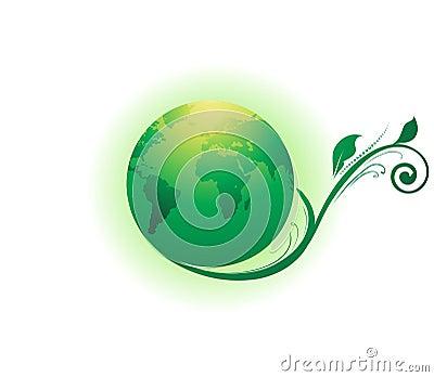 Abstract environment Globe