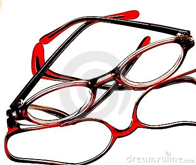 Abstract Eyeglass Background Design