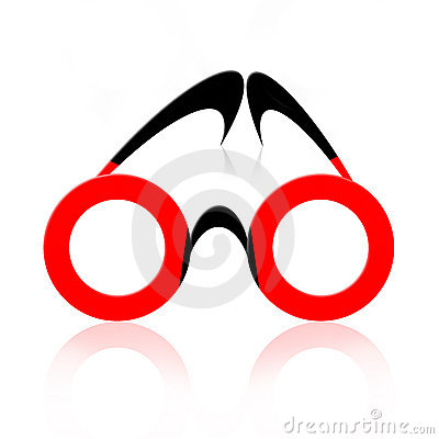 Free Abstract Eyeglasses Stock Photos - 13686813