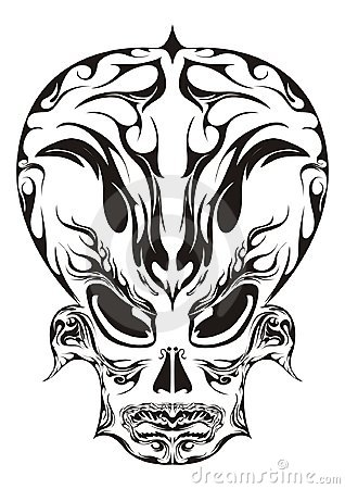 Abstract Face Design