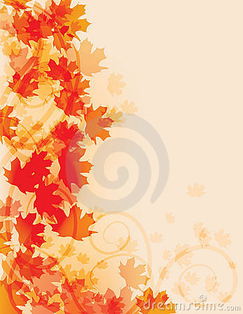 Free Abstract Fall Leaf Background Stock Photo - 16337650