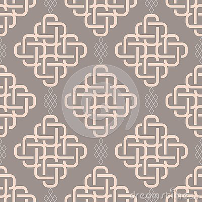 Abstract fashionable geometrical seamless pattern Vector Illustration