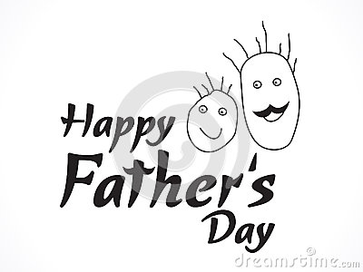 Abstract father day background