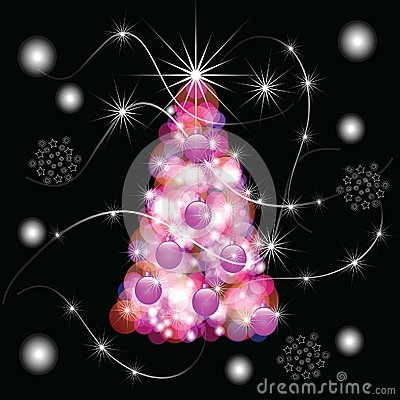 The Abstract festive background.
