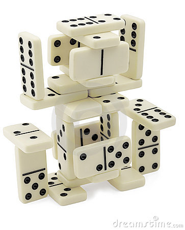 Free Abstract Figure Of Dominoes Stock Photo - 14212360