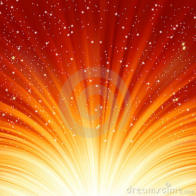 Abstract fire glow background. EPS 8