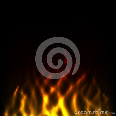 Abstract flame of fire Vector Illustration