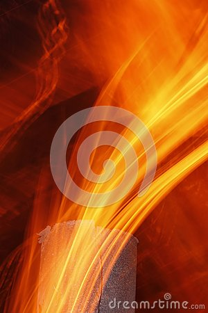 Free Abstract Flame Texture Royalty Free Stock Photo - 25678765