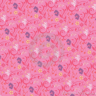 Abstract floral background A